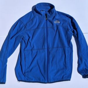The North Face Blue Fleece YM Jacket